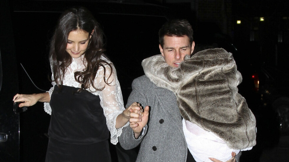 BITTERT BRUDD: Katie Holmes snakker nå for første gang om bruddet med Tom Cruise for to år siden. Foto: Stella Pictures