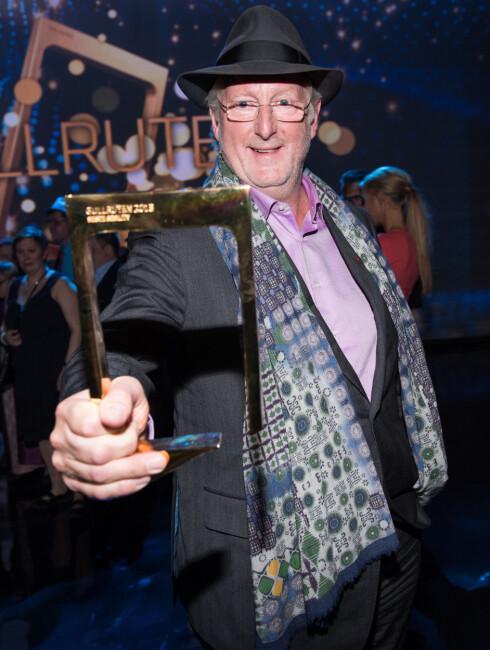 POPULÆR: Eyvind Hellstrøm har blitt en folkekjær programleder og vant i 2009 Gullruten-prisen for «årets mannlige programleder».