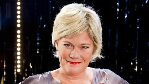 SIV: Marika Enstad som Siv Jensen, i Peer Gynt anno 2014.  Foto: Oddvar Walle Jensen