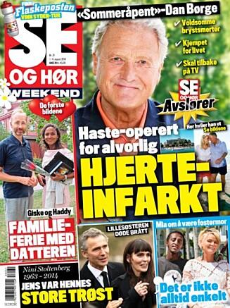 LES MER : I nyeste utgave av Se og Hør Weekend kan du lese mer om Dan Børge Akerøs dramatiske opplevelse. Foto: Faksimile Se og Hør