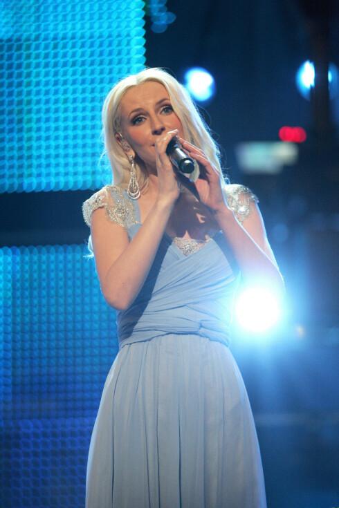 FOLKEKJÆR: Maria Arredondo deltok i Melodi Grand Prix i 2010. Her under finalen i Spektrum. Foto: Stella Pictures