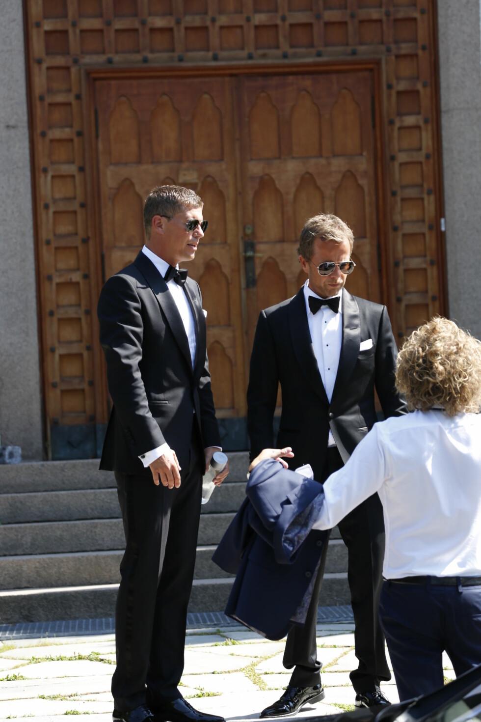FORLOVER: Jan Fredrik Karlsen var forlover.