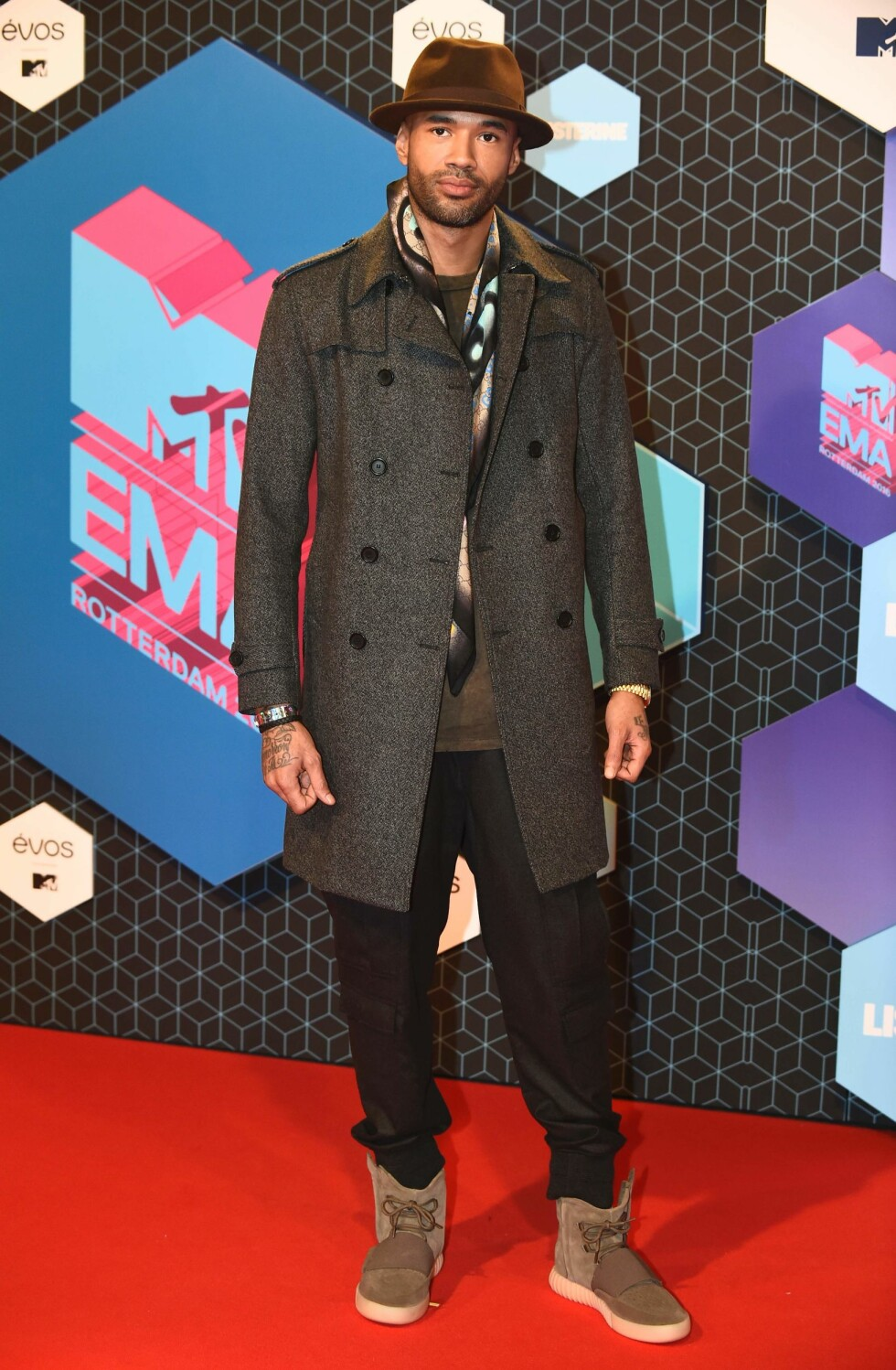 Netherlands' singer Mr. Probz poses on the red carpet at the MTV Europe Music Awards (EMA) on November 6, 2016 at the Ahoy Rotterdam in Rotterdam.  / AFP PHOTO / JOHN THYS Foto: Afp