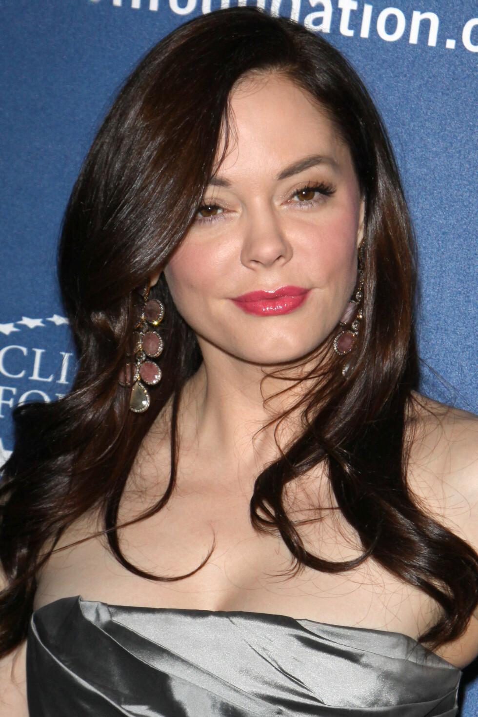 I 2011: Rose McGowan strålte på et arrangement i L.A. i mars 2011. Foto: Stella Pictures
