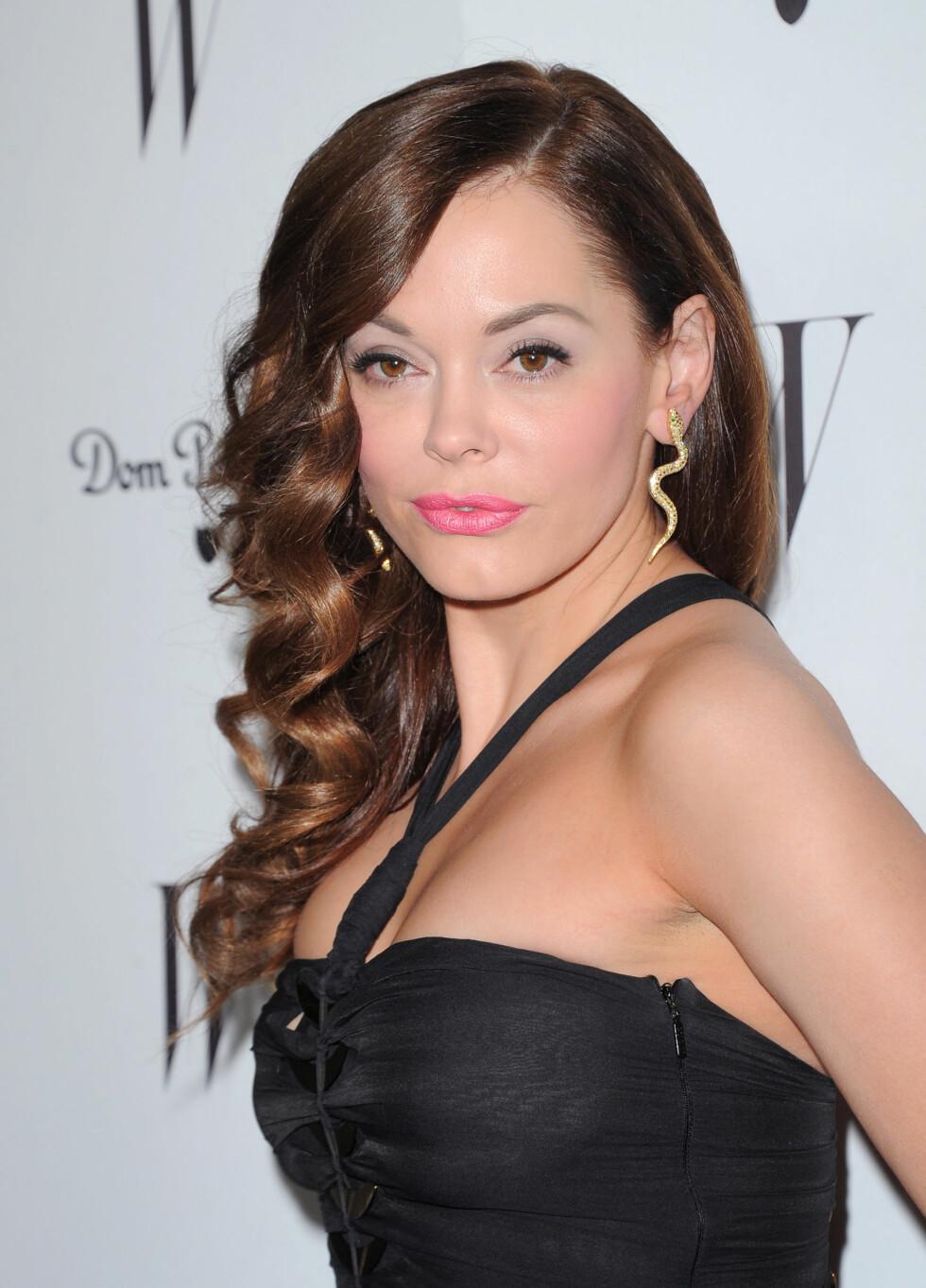 I 2012: Skuespilleren var en skikkelig babe på Golden Globe-fest på Chateau Marmont i West Hollywood i midten av januar 2012. Foto: Stella Pictures