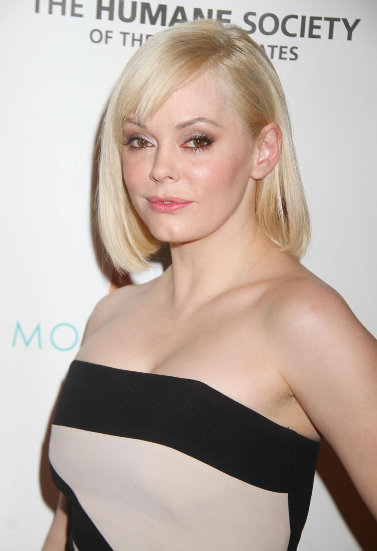 I 2012: I slutten av desember 2012 viste stjernen seg med en blond bobfrisyre i New York. Foto: Stella Pictures
