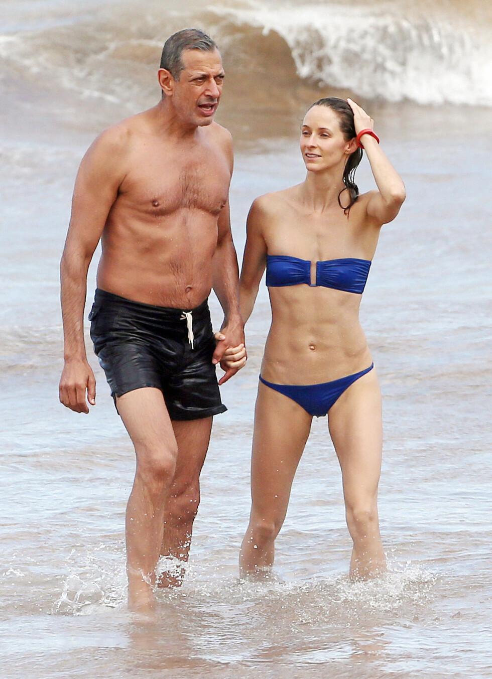 KLARE FOR BRYLLUP: Emilie blir Jeff Goldblums tredje kone. Foto: Stella Pictures