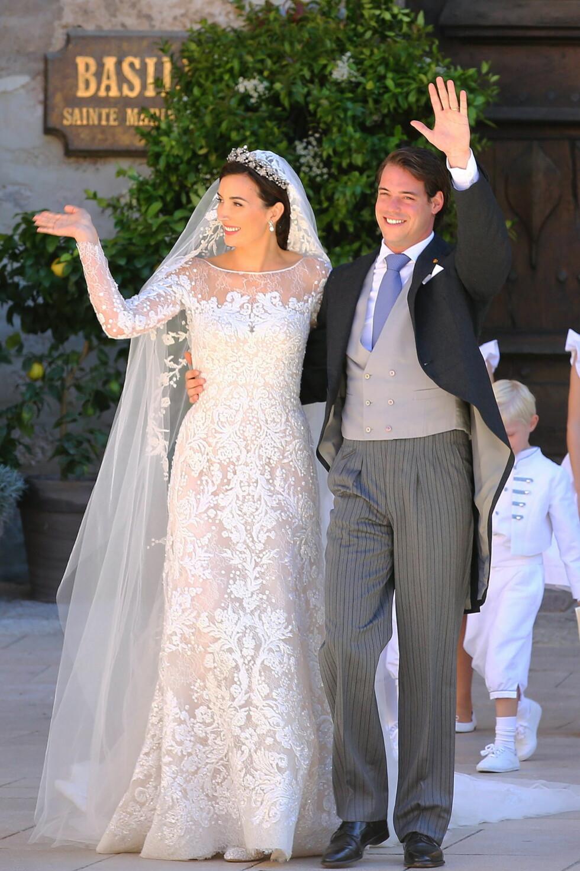 GODT PLANLAGT: Ni måneder etter at Felix og Claire giftet seg, ble de foreldre til en liten prinsesse.  Foto: All Over Press