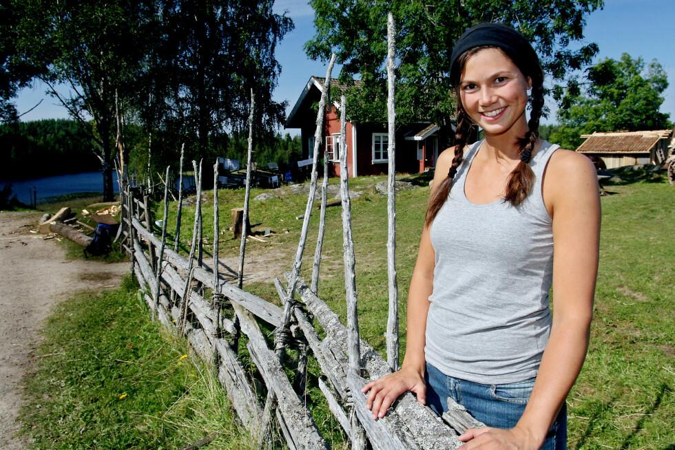 FARMEN-VINNEREN: Silje Hvarnes vant 2008-utgaven av Farmen, som ble spilt inn på Bøensætre i Aremark. Foto: TV 2