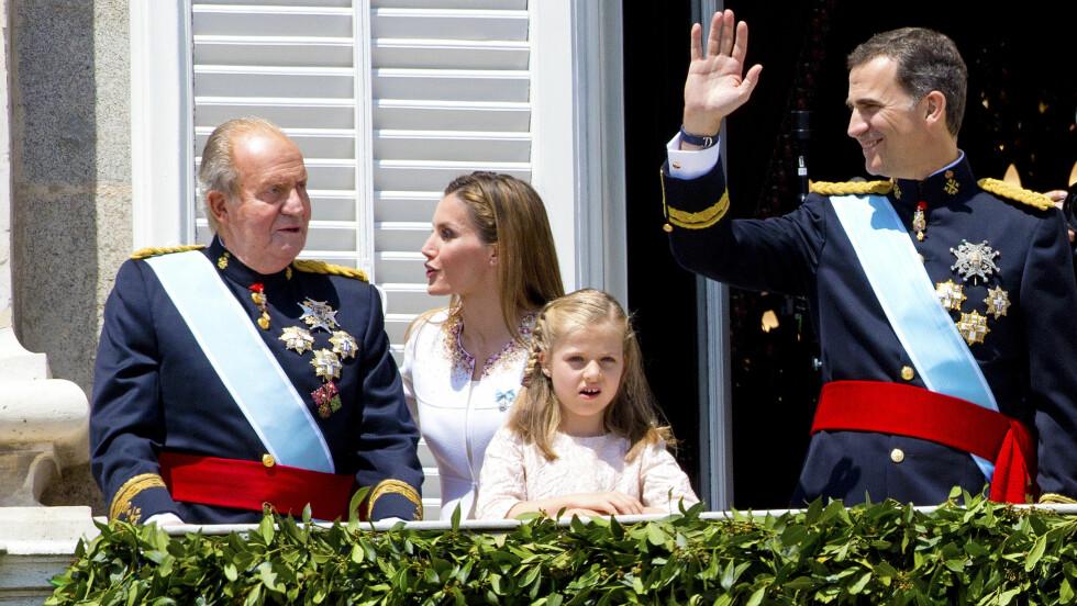 TO KONGER: Juan Carlos har gitt fra seg stafettpinnen til sønnen, men beholder fortsatt tittelen og sin immunitet,  Foto: Stella Pictures
