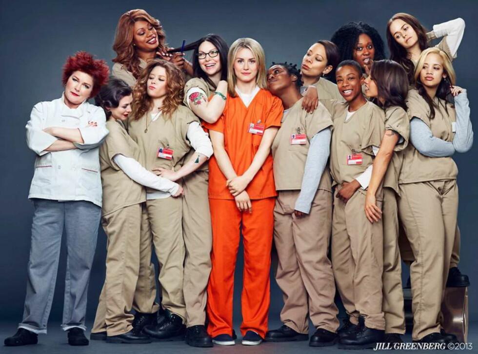TV-SUKSESS: «Orange is the new black» ble en hit på Netflix og jentene holder på med innspilling av tredje sesong.