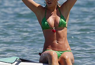 Hun viste frem sin utrolig veltrente kropp