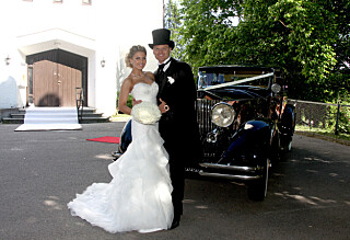 Slik er herr og fru Riises bryllupsreise