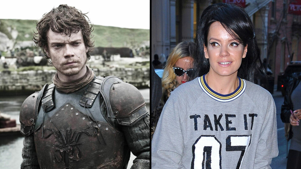 LØGN: Alfie Allen, som spiller Theon Greyjoy i Game of Thrones, slår tilbake mot søsterens påstander om at hun ble tilbudt rollen som hans søster i serien. Foto: FameFlynet