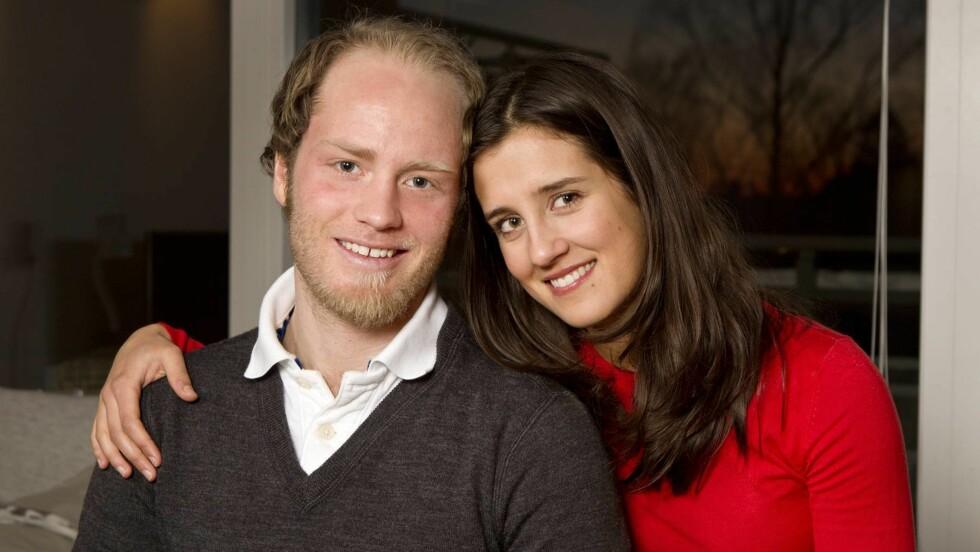 PLANLEGGER BRYLLUP: Martin Johnsrud Sundby og hans halvt nederlandske kjæreste Marieke Heggeland skal gifte seg neste år. Foto: Andreas Fadum, Se og Hør