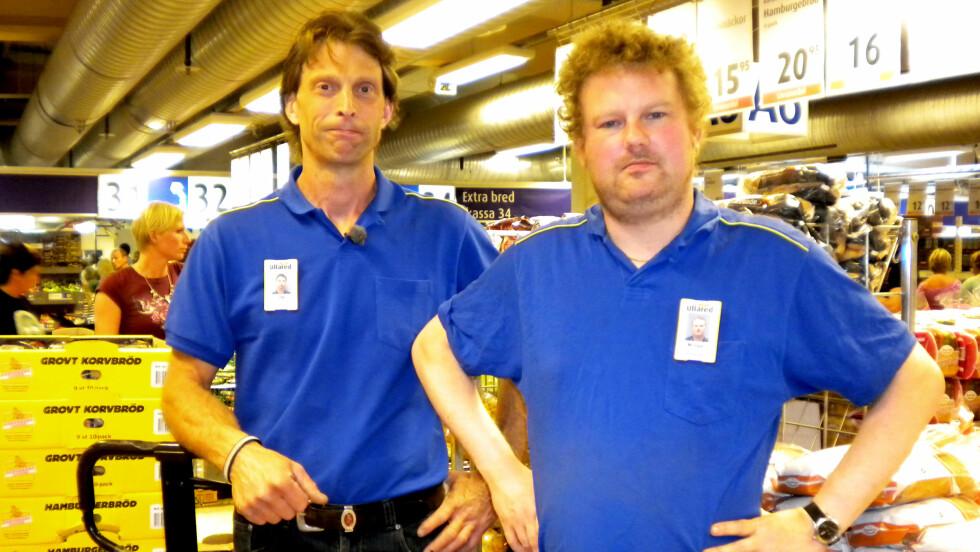 TIL NORGE: Ola-Conny Wallgren og Morgan Karlsson har vært i Norge og laget ny TV-serie. Foto: TVNorge