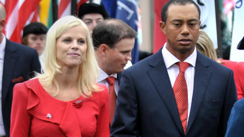 HAR TILGITT: Elin Nordegren har lagt den vonde tiden bak seg, og samarbeider nå med eksmannen Tiger Woods om oppdragelsen av deres to barn.