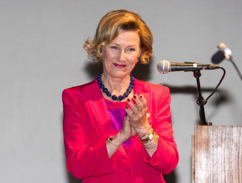 PÅ REISE: Ifølge informasjonssjef på Slottet er dronning Sonja på en lengre planlagt reise.