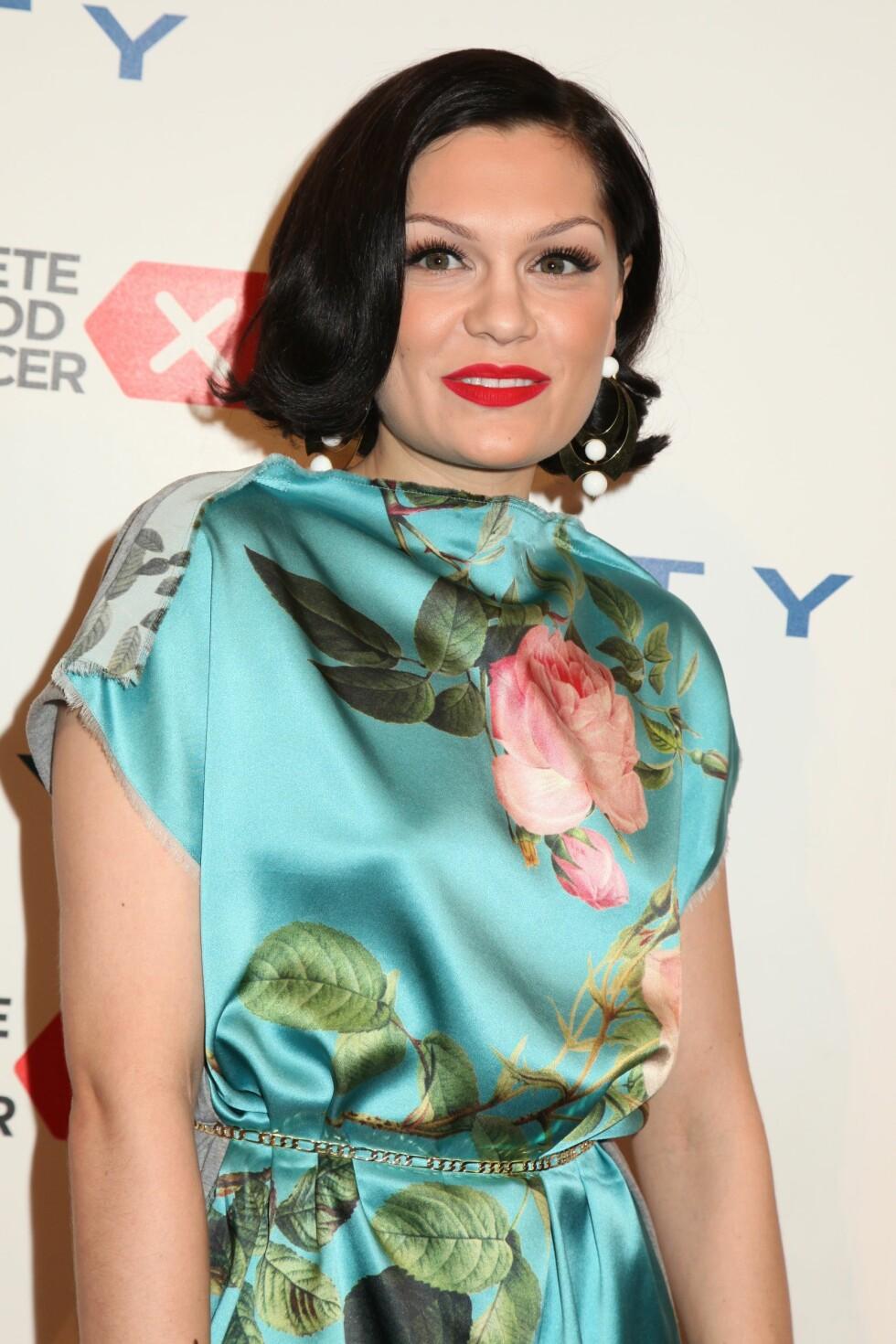 SKREV LÅT: Jessie J skrev sangen «Who You Are» etter hjerneslaget. Låten fremførte hun under gallaen onsdag. Foto: REX/Gregory Pace/BEI/All Over Press