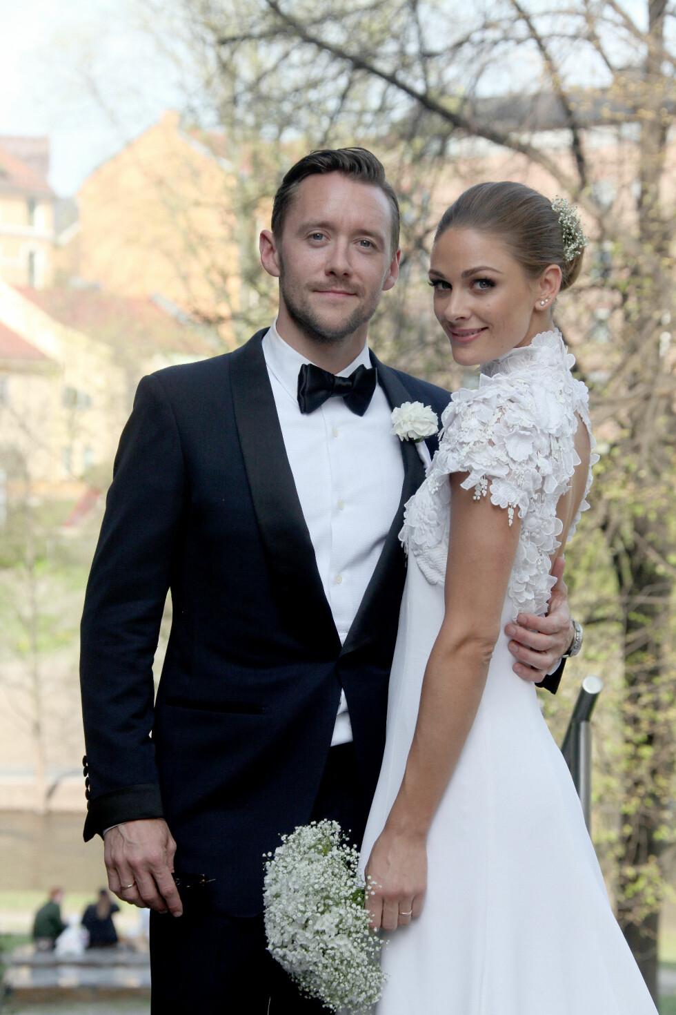 GIFT: Lørdag giftet Jenny Skavlan og Thomas Gullestad seg i Oslo sentrum.  Foto: FameFlynet Norway