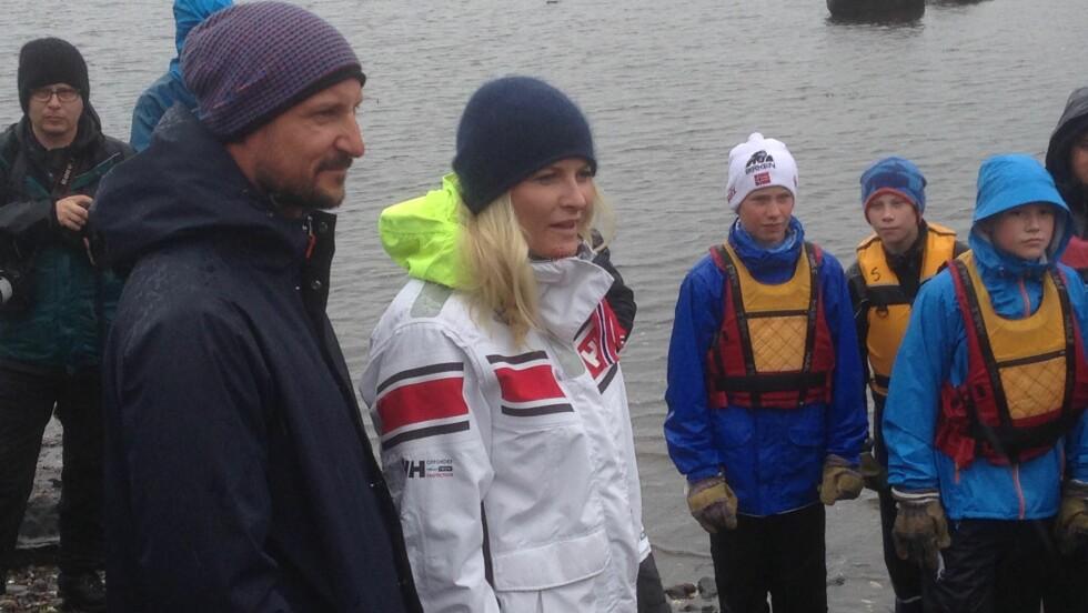 FÅR KRITIKK: Kronprinsparet svarte tirsdag på kritikken fra Per Sandberg. Foto: Anders Stavseng, Se og Hør