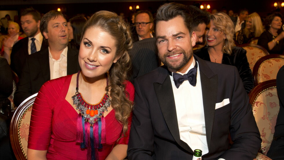 AVSLØRTE BABYNAVNET: Tone Damli og Markus Foss' datter har fått navnet Billie Foto: Se og Hør