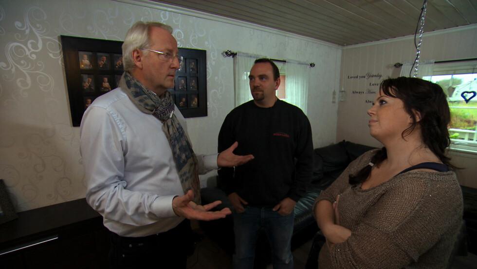 TOMATSUPPE: I januar avslørte firebarnsmoren Siw Anita Eftestad til Hellstrøm at hun var så deprimert etter et samlivsbrudd at hun bare orket å servere barna sine tomatsuppe. Foto: TV3