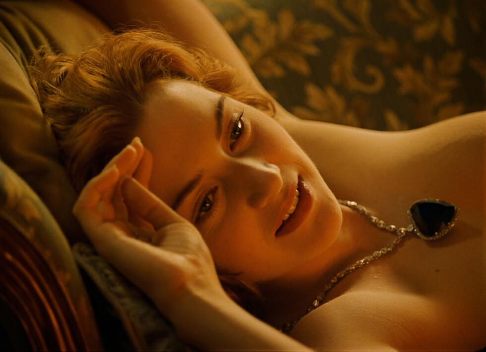 STARTSKUDDET: Kate Winslet var 21 år da hun spilte i filmen Titanic - som siden skulle bli en av verdens mest populære kinosuksesser. Foto: 20th Century Fox Licensing/Merchandising / Everett Collection/All Over Press