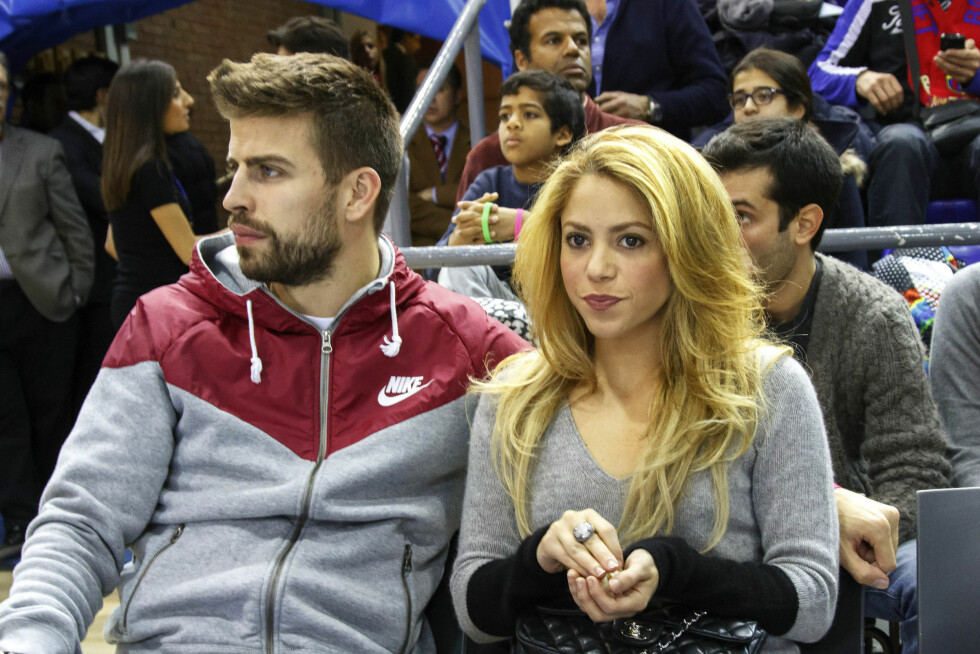 FYSISK: Forholdet mellom Gerard og Shakira er svært fysisk. Foto: FameFlynet