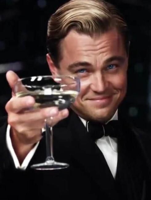 AKTUELL: Leonardo DiCaprio har jobbet konstant de siste årene og er nå klar med tre nye filmer. Her er han i rollen som Jay Gatsby i nyversjonen av storfilmen «The Great Gatsby».  Foto: Fame Flynet