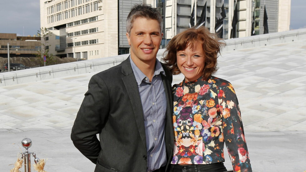 NORMALBYGD: I dag har Nicolai Cleve Broch hva mange vil kalle normal kroppsfasong. Her med kona Heidi Gjermundsen Broch på «Kon-Tiki»-premiere i Oslo tidligere i år.