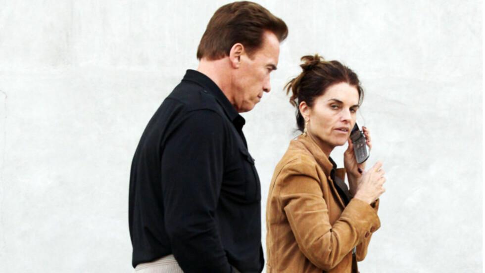 VOND TID: Skuespiller Arnold Schwarzenegger vedgår at oppførselen hans gikk smertelig utover kona Maria Shriver og deres fire barn. Nå kommer hans selvbiografi, der blant annet utroskapen og sønnen Joseph, som ble født av elskerinnen hans for snart 1 Foto: Stella Pictures