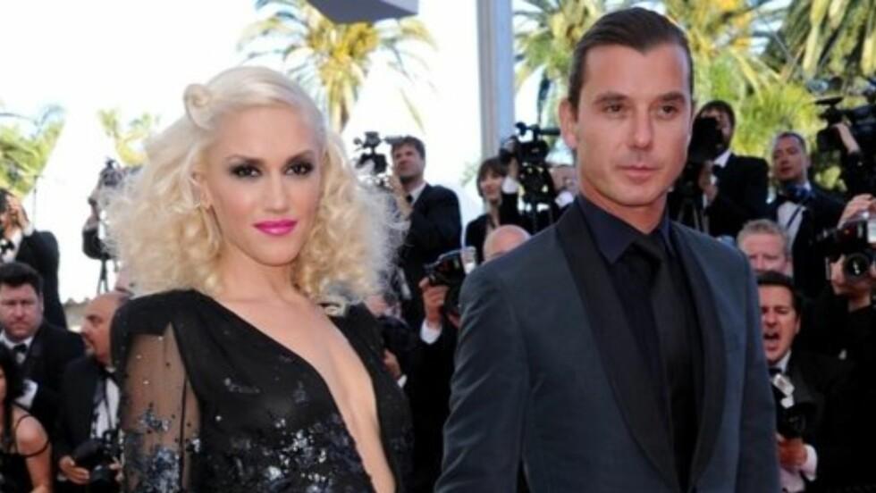 LYKKELIG GIFT:  Jeg blir lykkelig over at noen liker meg så mye som han gjør, sier Gwen Stefani til The Sun om ekteskapet med Gavin Rossdale.