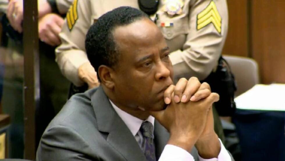 EKSTREMT SYK: Murray skal ha fått sykdommen dysenteri, og har gått ned 14 kilo i fengselet. Foto: All Over Press