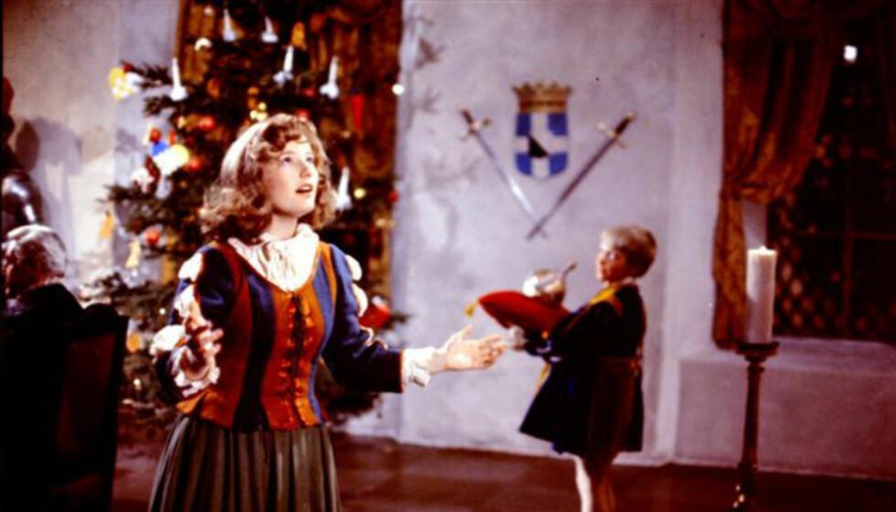 """POPULÆR: Filmen """"Reisen til julestjernen"""" fra 1976 med Hanne Krogh i hovedrollen, er en populær juletradisjon for mange TV-seere."""