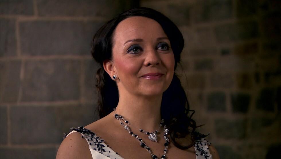 <strong>SLUTTER I HOTEL CÆSAR:</strong> Marianne Westby, som spiller Cathrine Hove i Hotel Cæsar, kommer ikke tilbake på skjermen etter nyttår. Foto: TV 2