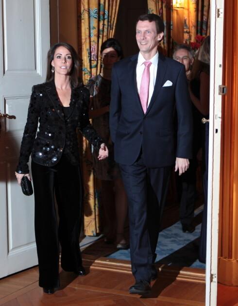 BRUKER MER: Ikke alle har vært like flinke til å spare. Prins Joachim og Marie har et høyere forbruk enn tidligere. Foto: Stella Pictures
