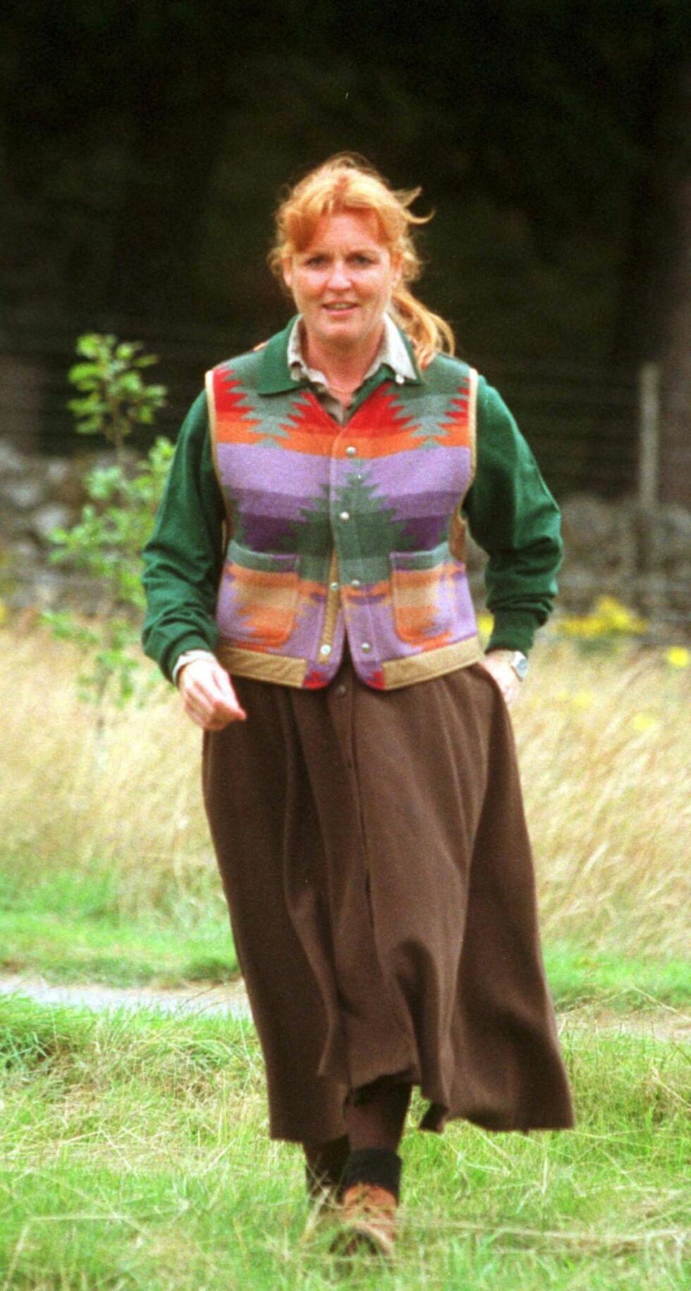<strong>MOBBET:</strong> Sarah har blitt kalt hertuginnen av gris og feite Sarah.  Nå innrømmer hun at overvektsproblemene har gjort det vanskelig for henne å være en offentlig person.  Foto: ALL OVER PRESS
