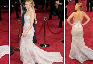 Kristen Bell måtte tisse på et syltetøyglass under Oscar
