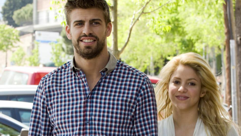 SNART KLAR FOR FLERE BARN: Shakira og fotballspilleren Gerard Pique ønsker seg en diger familie. Foto: Fame Flynet
