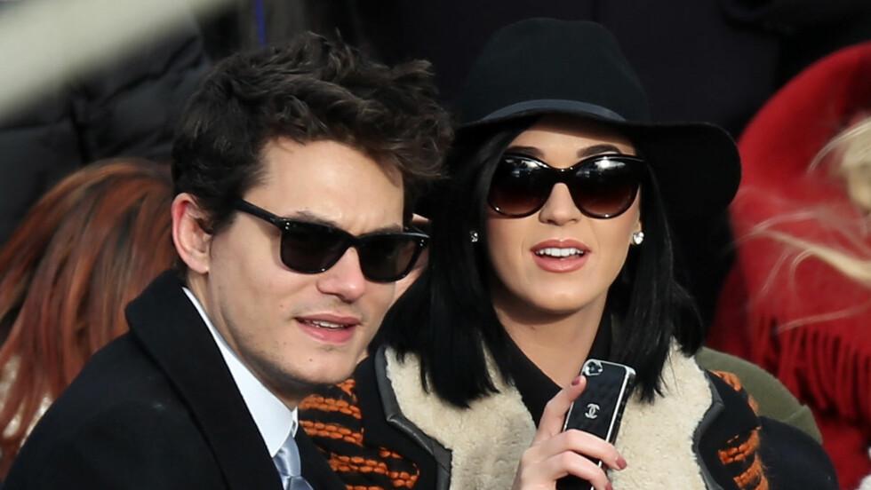 HOLDT IKKE UT: John Mayer skal fra tid til annen ha skrudd av telefonen sin og blitt borte over lengre tid. Det bidro til at Katy Perry ikke holdt ut lenger. Foto: All Over Press
