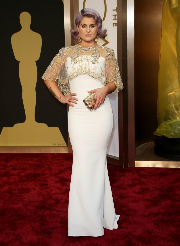 Realitystjernen og programleder Kelly Osbourne (29). Foto: REX/Jim Smeal/BEI/All Over Press