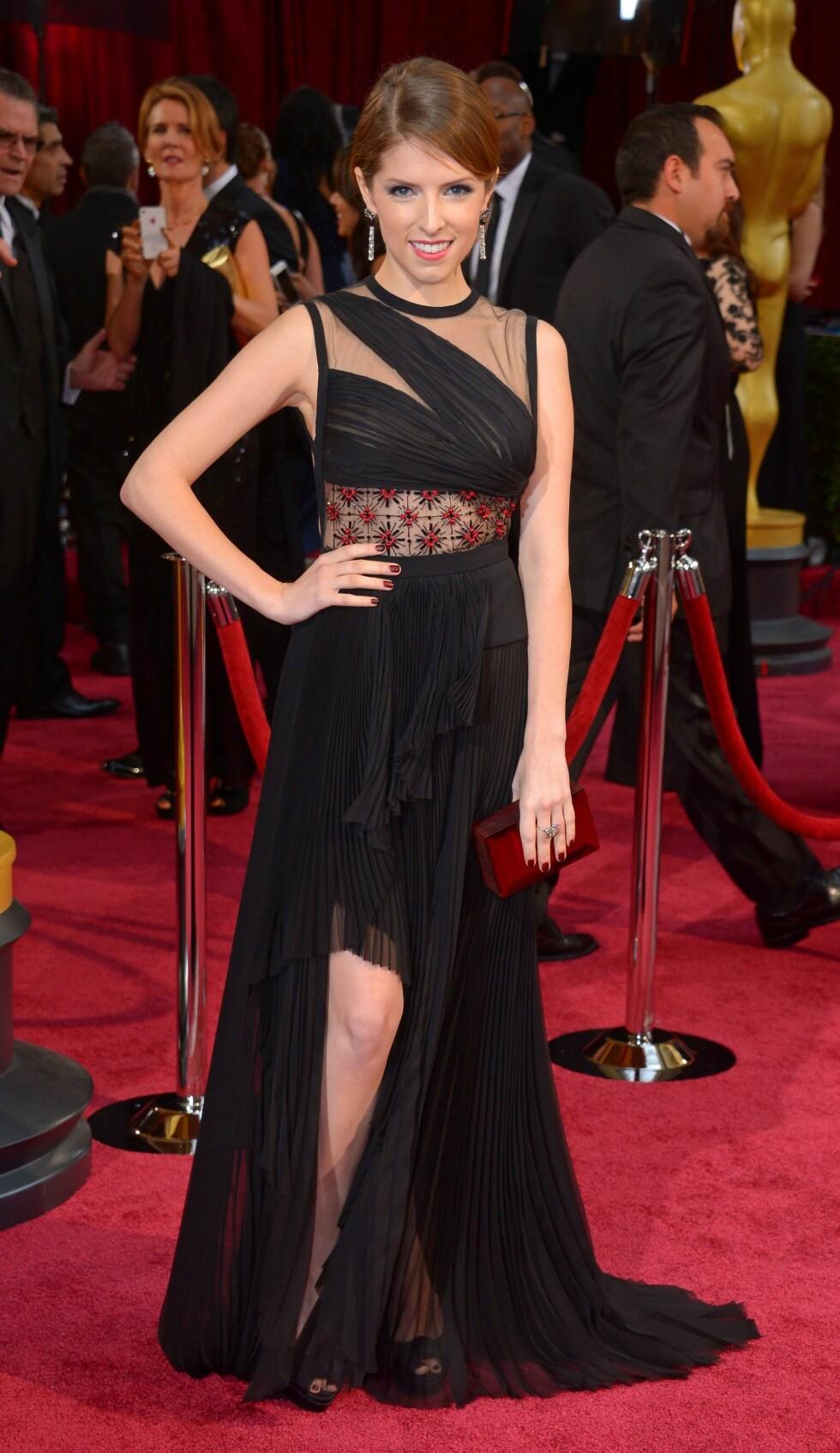 "Skuespilleren Anna Kendrick (28), kjent fra ""Twilight""-trilogien. Foto: REX/Stewart Cook/All Over Press"