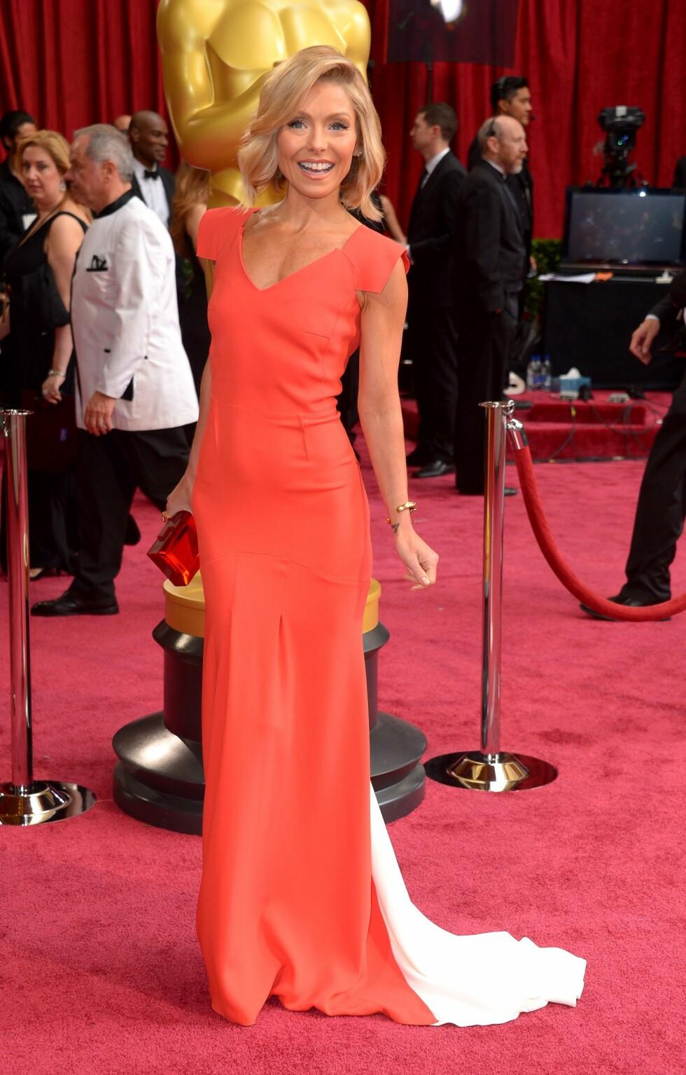 Skuespiller og TV-vert Kelly Ripa (43). Foto: REX/Stewart Cook/All Over Press