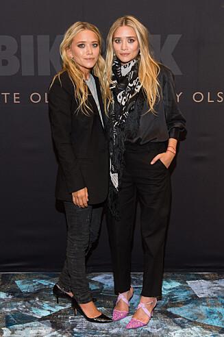SUKSESSRIKE: Mary-Kate og Ashley Olsen lanserte i høst sin egen kolleksjon for Bik Bok i Oslo. Foto: FameFlynet Norway