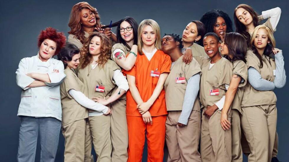 TV-SUKSESS: «Orange is the new black» ble en hit på Netflix. Nå er seong nummer to på vei.