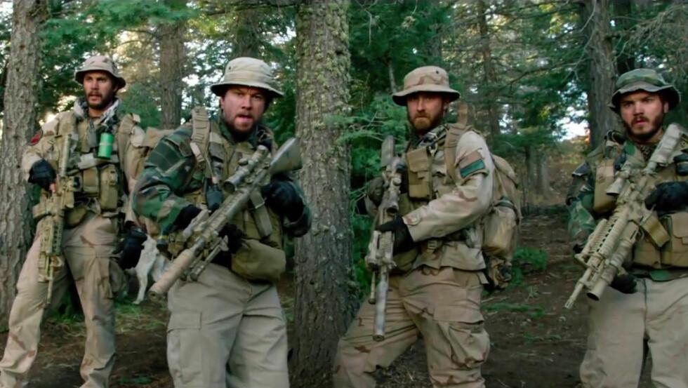 ACTIONHELT: I  filmen «Lone Survivor» spiller skuespilleren en militæroffiser på oppdrag i Afghanistan. Foto: Stella Pictures