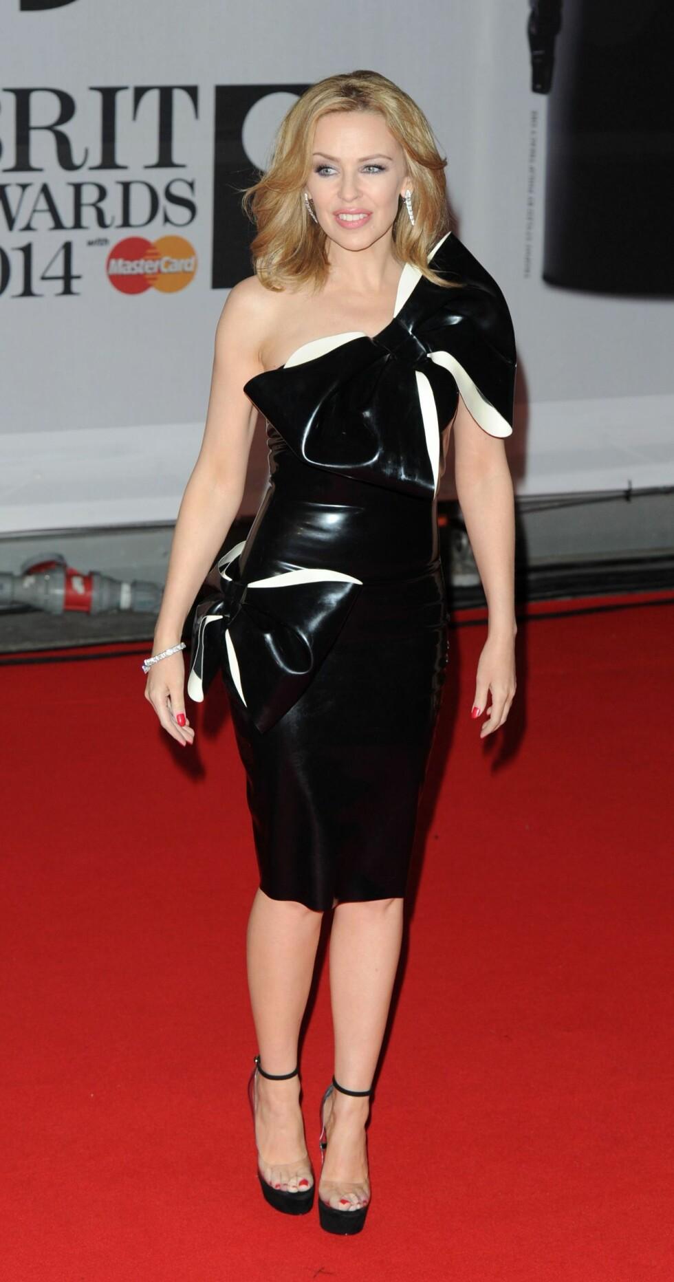 Popstjernen Kylie Minogue (45). Foto: REX/Brian Rasic /All Over Press