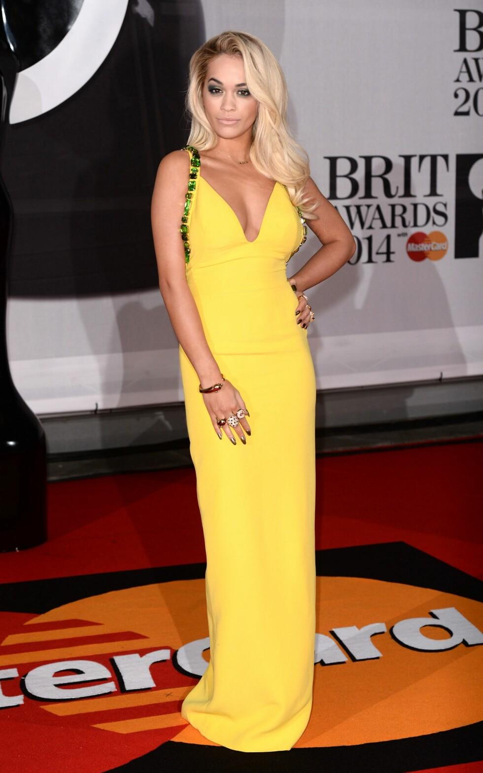 Popstjerne og skuespiller Rita Ora (23). Foto: REX/David Fisher/All Over Press