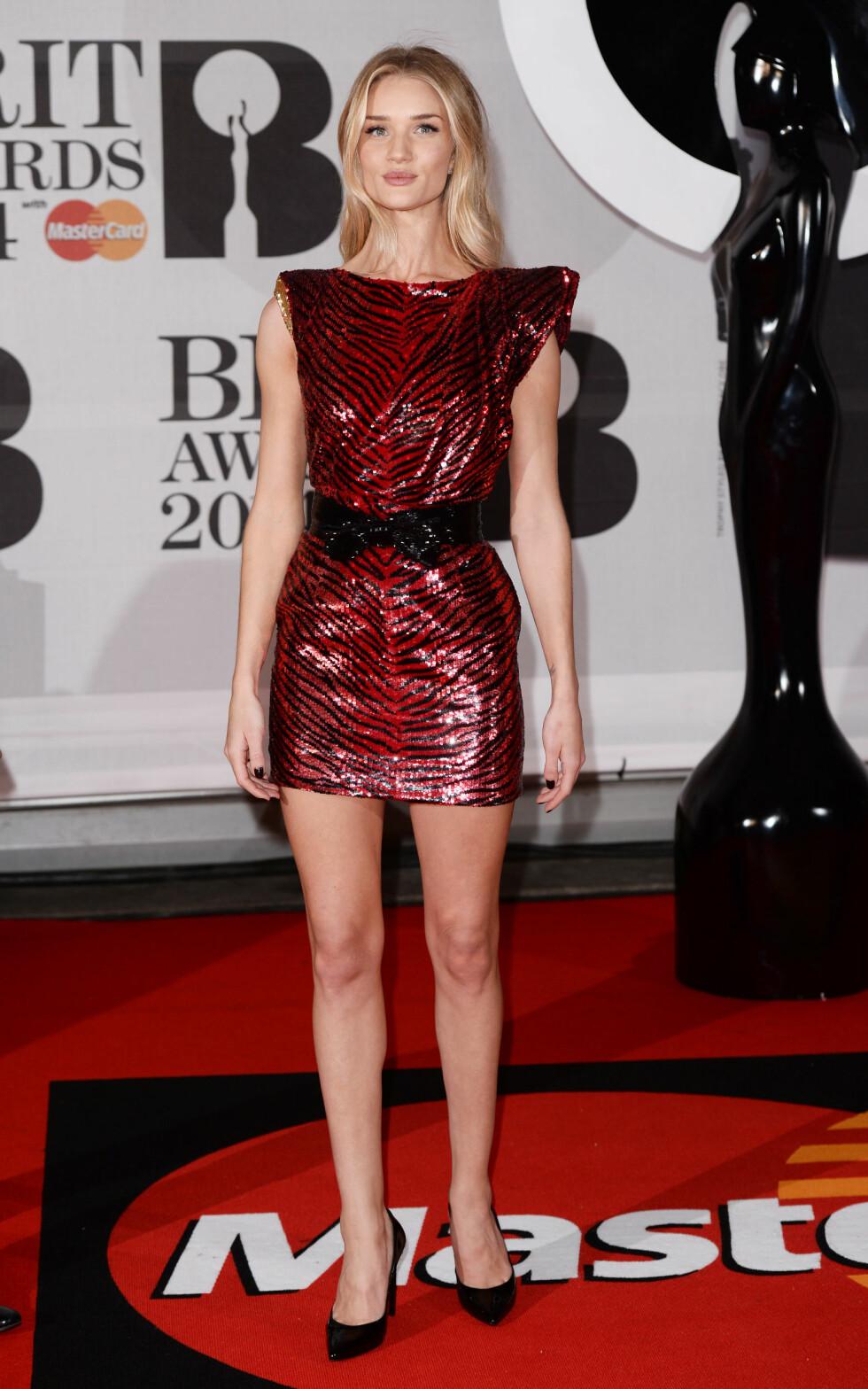 Modellen og skuespilleren Rosie Huntington-Whiteley (26). Foto: REX/David Fisher/All Over Press